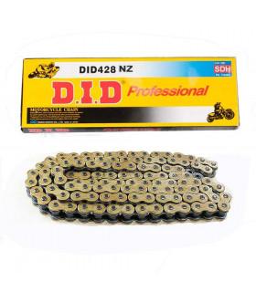 DID 428 NZ CHAIN. BLACK/GOLD. (140 LINKS)
