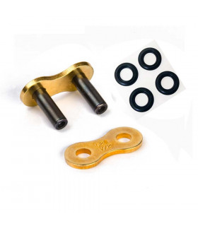 DID 520 DZ RACING MASTER LINK BLACK/GOLD