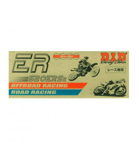 CADENA DID 520 ERS2 RACING  DORADA (104 PASOS)