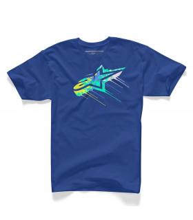 ALPINESTARS DRIPS T-SHIRT   (ROYAL BLUE)
