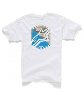 CAMISETA ALPINESTARS DISRUPTION (BLANCA)
