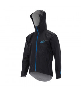 ALPINESTARS ALL MOUNTAIN   JACKET (BLACK/CYAN)
