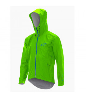 ALPINESTARS ALL MOUNTAIN JACKET (LIME GREEN/BLUE)