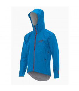 CHAQUETA ALPINESTARS ALL MOUNTAIN (CYAN/ROJO)