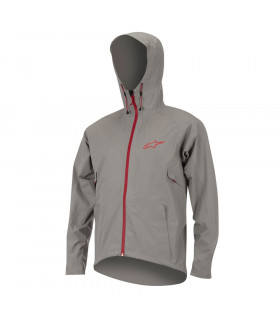 CHAQUETA ALPINESTARS ALL MOUNTAIN (GRIS/ROJA)