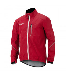 ALPINESTARS DESCENDER WINDPROOF JACKET (RED/WHITE)
