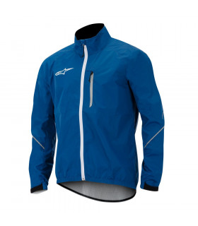 ALPINESTARS DESCENDER WINDPROOF JACKET (BLUE/WHITE)