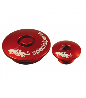 ENGINE PLUGS (2 PCS) RED