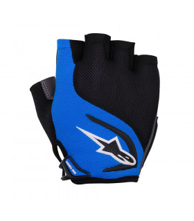 ALPINESTARS PRO-LIGHT SHORT FINGERS GLOVES (BLUE-BLACK)