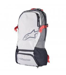 MOCHILA ALPINESTARS FASTER  (STEEL GREY/SPICY ORANGE)