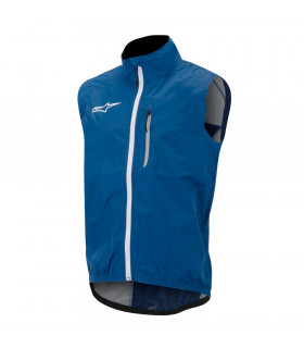 CHALECO ALPINESTARS DESCENDER WINDPROOF (AZUL/BLANCO)