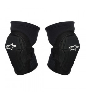 ALPINESTARS FIERCE KNEE GUARD (BLACK/WHITE)