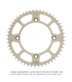 SUNSTAR ERGAL REAR SPROCKET FOR APRILIA (42 TEETH)