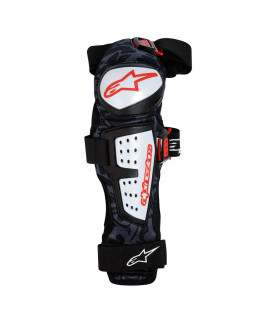 ALPINESTARS MOAB KNEE/SHIN GUARD (BLACK/WHITE)