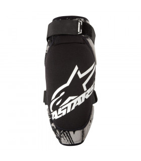 ALPINESTARS KEVLAR KNEE GUARD (BLACK/WHITE)