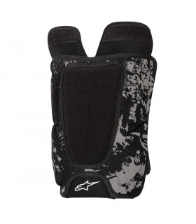 ALPINESTARS KEVLAR SHIN GUARD (BLACK/WHITE)