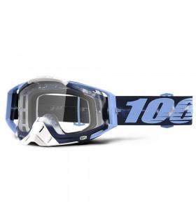 MASCARA 100% RACECRAFT   TIEDYE (LENTE TRANSP.)