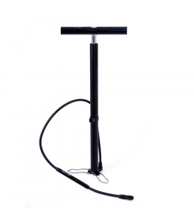 TFHPC TRAVEL ALUMINIUM FLOOR PUMP (WITH BACK)