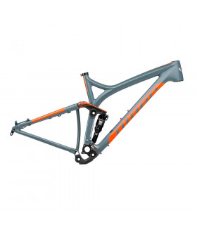 NINER RIP 9 CARBON FRAME  (SLATE/ORANGE)