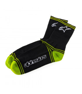 ALPINESTARS WINTER SOCKS (BLACK/GREEN)
