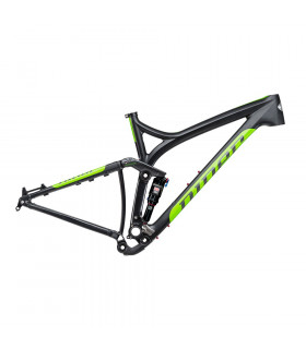 NINER RIP 9 CARBON FRAME  (BLACK/GREEN)