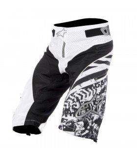 ALPINESTARS GRAVITY SHORTS (WHITE/BLACK)