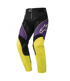 ALPINESTARS A-LINE 2 PANTS  (PURPLE/ACID YELLOW)