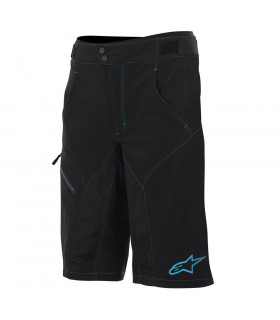 ALPINESTARS OUTRIDER WATER RESISTANT SHORT (BLACK/BLUE)