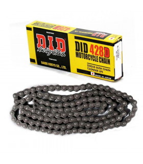 DID 428 O-RING BLACK CHAIN (130 LINKS)