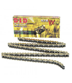 DID 428 VX O-RING BLACK CHAIN (144 LINKS)