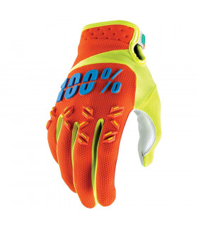 100% AIRMATIC GLOVES (ORANGE)