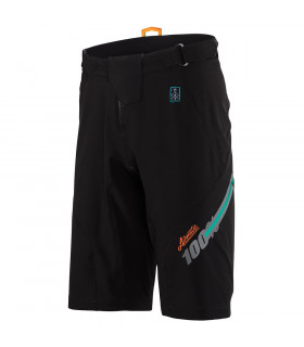 100% AIRMATIC SHORTS (FAST TIMES BLACK)