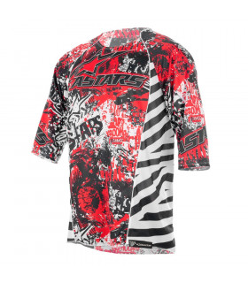 ALPINESTARS GRAVITY JERSEY (BLACK/RED)