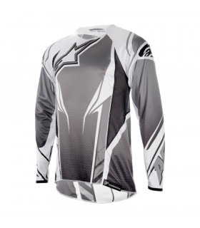 ALPINESTARS A-LINE LONG SLEVEE JERSEY (GREY/BLACK)