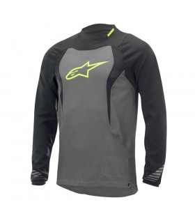 ALPINESTARS DROP LONG SLEEVE JERSEY (GREY/BLACK)