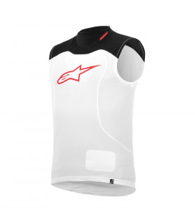 ALPINESTARS DROP VEST (WHITE/BLACK)