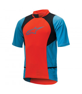 ALPINESTARS DROP 2 JERSEY  (SPICY ORANGE/BLUE)