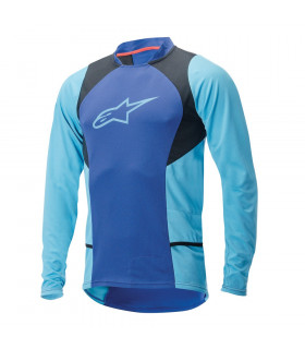 ALPINESTARS DROP 2 LS JERSEY (BLUE STRATOS/AQUA)