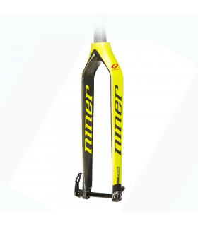 HORQUILLA NINER RDO CON EJE DE 15 MM (BLAZE YELLOW/470 MM