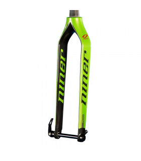 NINER RDO FORK WITH 15 MM AXLE (GREEN/470 MM)