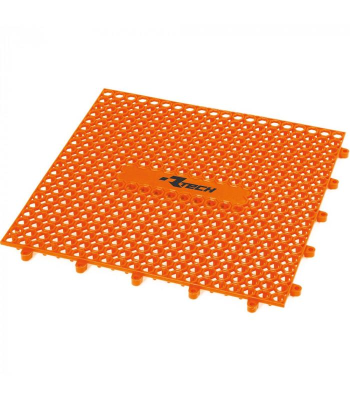 PARQUET PLASTICO RTECH NARANJA (9 PZS. / 1M x 1M)