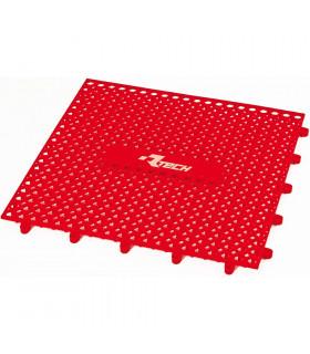 PARQUET PLASTICO RTECH ROJO (9 PZS. / 1M x 1M)