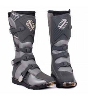 BOTA CROSS SHIFT COMBAT PLATEADA