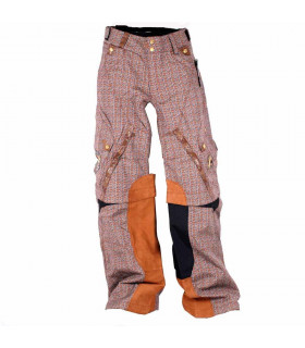 PANTALON MX SHIFT SQUADRON MARRON