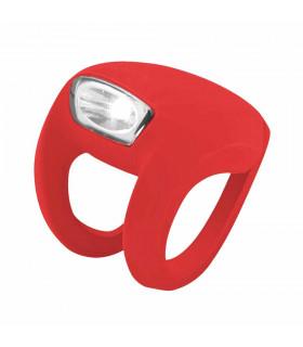 KNOG FROG STROBE FRONT LIGHT (RED)