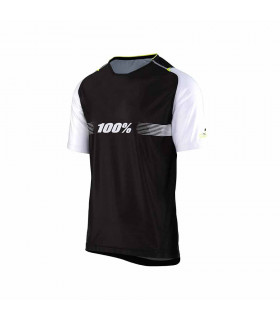 MAILLOT ALL MOUNTAIN 100% CELIUM (SOLID BLACK)
