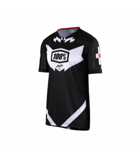 MAILLOT ALL MOUNTAIN 100% AIRMATIC (JEROMINO BLACK)
