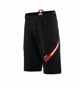100% AIRMATIC SHORTS (JEROMINO BLACK)
