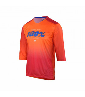 CAMISETA MTB AIRMATIC BLAZE ORANGE
