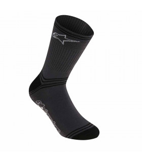ALPINESTARS WINTER SOCKS  (GREY/BLACK)